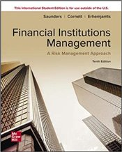 Financial Institutions Management 10e : A Risk Management Approach - Saunders, Anthony