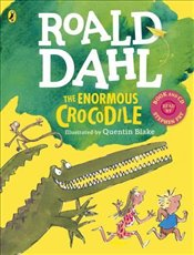 Enormous Crocodile (Book and CD) - Dahl, Roald