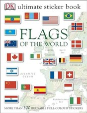 Flags of the World Ultimate Sticker Book - DK