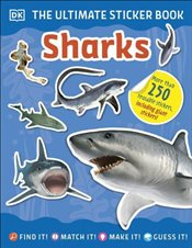 Ultimate Sticker Book Sharks - DK