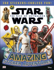 Star Wars the Rise of Skywalker Amazing Sticker Adventures - Fentiman, David