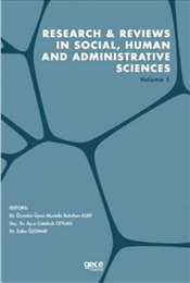 Research and Reviews in Social-Human and Administrative Sciences Volume 1 - Kurt, Mustafa Batuhan