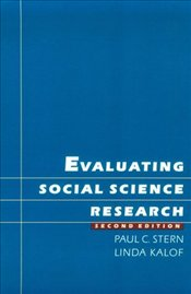 Evaluating Social Science Research 2e - STERN, PAUL C.