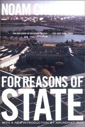 For Reasons of State - Chomsky, Noam