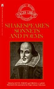 Shakespeares Sonnets and Poems - Shakespeare, William